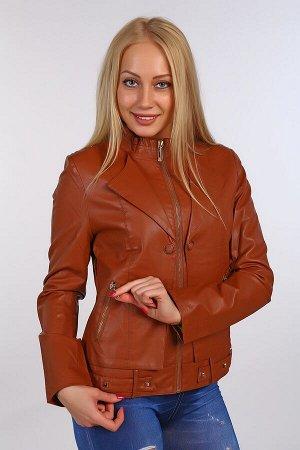 Кожаная куртка BN-63-2 темно-коричневая