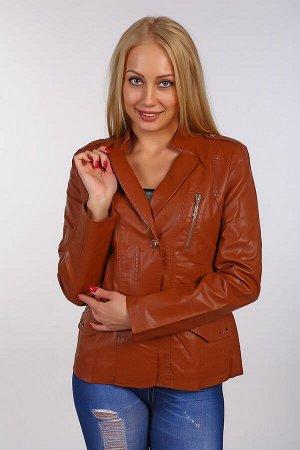 Кожаная куртка BN-64-1 темно-коричневая