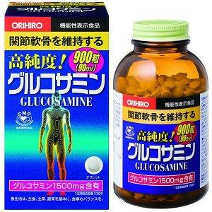 Глюкозамин хондроитин Orihiro 900 капсул