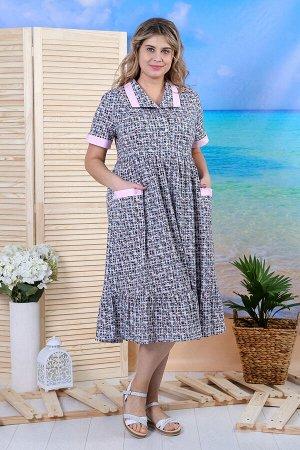 Платье Мишель Кулирка