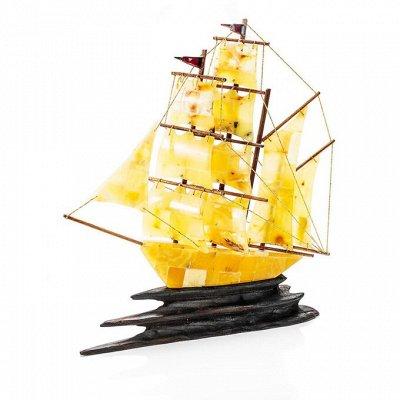 Бижу из настоящего Янтаря    — Корабли из янтаря — Сувениры