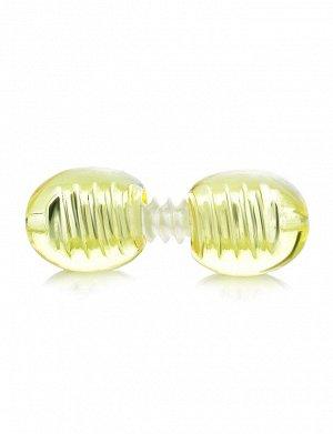 Винтовая застёжка для бус и колье лимонного цвета, 809507223