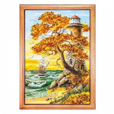 Бижу из настоящего Янтаря    — Картины с янтарем — Картины