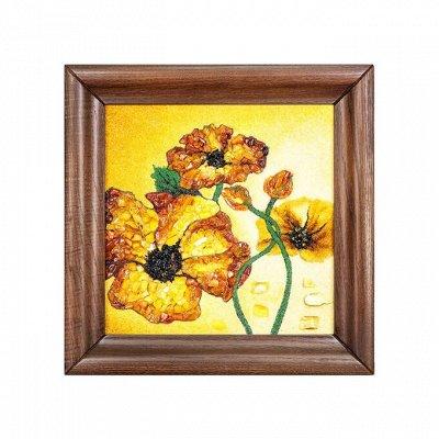 Бижу из настоящего Янтаря    — Картины из янтаря — Картины