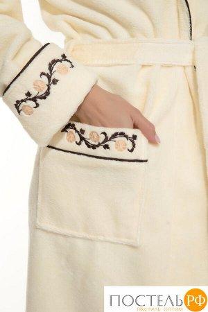 Банный халат Caramele Цвет: Кремовый. Производитель: Peche Monnaie