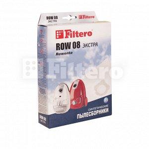 Пылесборники Filtero ROW 08 (3) Экстра