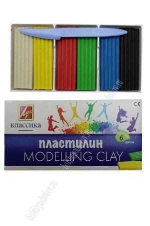 "Пластилин ""Классика"" 6 цв. 12С 878-08"