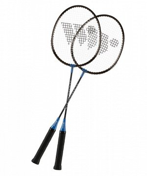 Набор для бадминтона WISH  Classic 316 (2 ракетки), синий 1/25