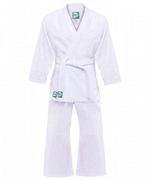 Кимоно для дзюдо MA-301 белый, р.3/160