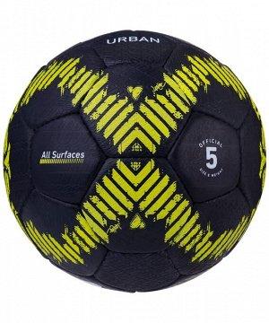 Мяч футбольный J?gel JS-1110 Urban №5, черный 1/40