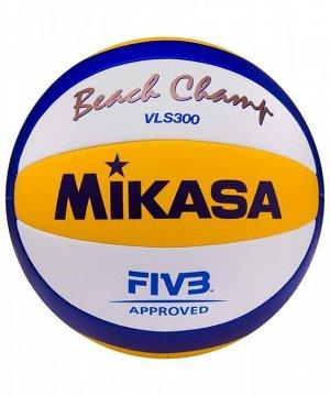 Мяч волейбольный Mikasa VLS 300 Beach Official 1/36