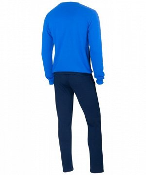 Костюм тренировочный J?gel JCS-4201-971, хлопок, темно-синий/синий/белый