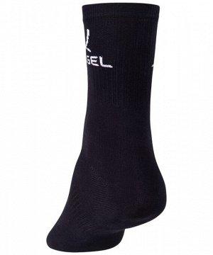 Носки высокие J?gel JA-005, черный/белый (2 ПАРЫ)