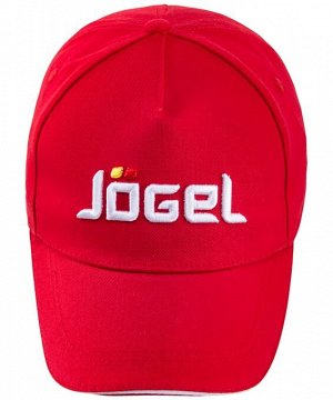 Бейсболка J?gel JC-1701-021, хлопок, красный/белый