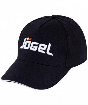 Бейсболка J?gel JC-1701-061, хлопок, черный/белый