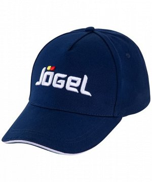 Бейсболка J?gel JC-1701-091, хлопок, темно-синий/белый
