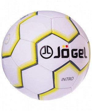 Мяч футбольный J?gel  JS-100 Intro №5, белый 1/30