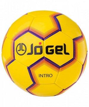 Мяч футбольный J?gel  JS-100 Intro №5, желтый 1/30