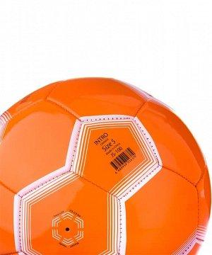 Мяч футбольный J?gel  JS-100 Intro №5, оранжевый 1/30