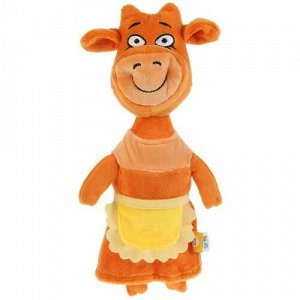 """Мягк. игрушка """"Мульти-пульти"""" Мама м/ф Оранжевая корова,27  см, пак"""