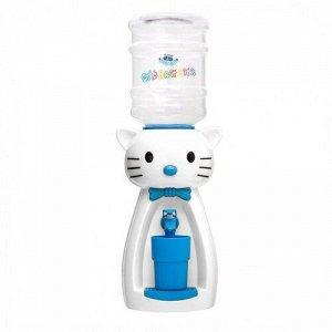 Кулер Кошка белый с голубым кор. 49см