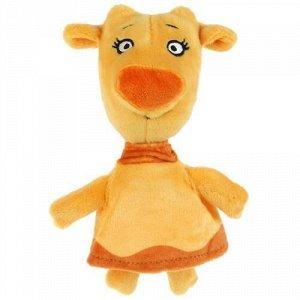 """Мягк. игрушка """"Мульти-пульти"""" Оранжевая корова зо , 18 см,пак"""