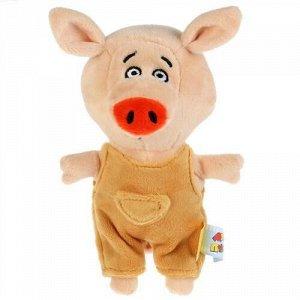 """Мягк. игрушка """"Мульти-пульти"""" Поросенок Коля м/ф Оранжевая корова,15 см, пак"""