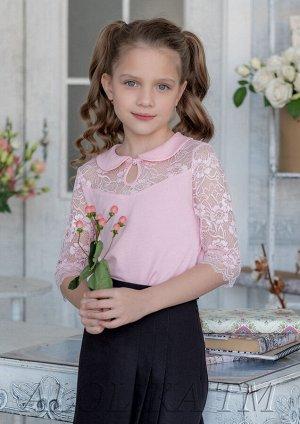 Фанни блузка трикотажная розовый.