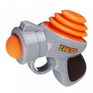 ИГРОЛЕНД Набор игровой пистолет, 3 шарика, пластик, 19,6х15,8х5,5см