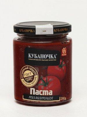 "Томат-паста ""Кубаночка"" 0,28 кг 1/12"