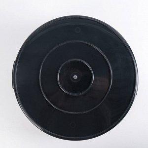Таз хозяйственный «Эконом», 15 л, цвет МИКС