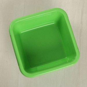 Таз «Квадратный», 3,5 л, цвет МИКС