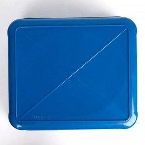 Таз квадратный 10 л, цвет МИКС