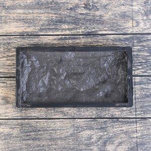 Форма для облицовочной плитки «Камень колотый», 26,7 ? 12,5 ? 2 см, Ф34012, 1 шт.