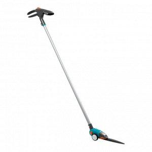 Ножницы для стрижки травы, поворотные, с телескопической рукояткой, GARDENA Comfort