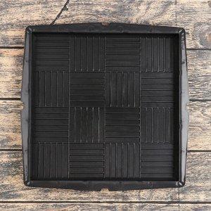 Форма для тротуарной плитки «Плита. Паркет», 30 ? 30 ? 3 см, Ф12007, 1 шт.