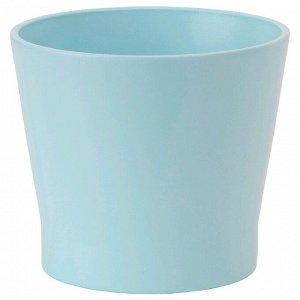 Кашпо ПАПАЙА, цвет голубой