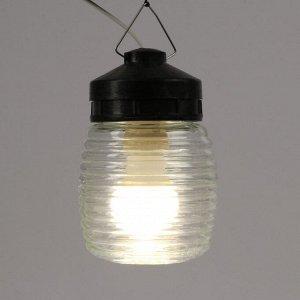 "Светильник TDM НСП 03-60-025 У1 ""Бочонок"", Е27, 60 Вт, IP54, шар, стекло"
