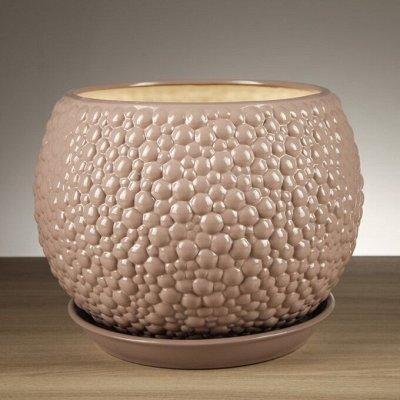 🌷 Кашпо, горшки, грунт - всё для домашних цветов и сада 🌷 — От 7 до 10 л - керамика — Кашпо и горшки