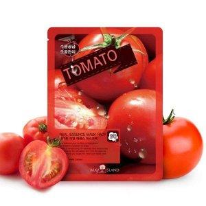 [MAYISLAND] Маска тканевая для лица с экстрактом томата Real Essense Tomato Mask Pack, 25 мл.