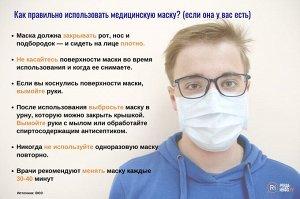 3-х слойные защитные маски уп.50шт