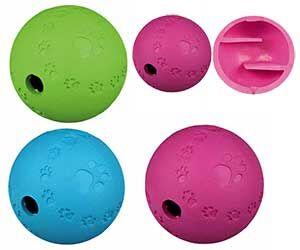Игрушка Для Собак Trixie (Трикси) Мяч Для Лакомства Резина 6см 34940