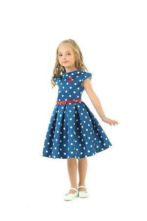 Платья Количество в упаковке: 1; Артикул: СС-1634 s/z-2; Цвет: Синий; Ткань: атлас; Состав: 100% хлопок, 100% полиэстер; Цвет: Серый | Синий | Молочный Скачать таблицу размеров
