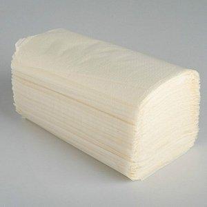Полотенца V - сложения белые 25 гр.м2, 250 л, 23*20