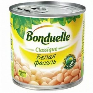 Bonduelle зел. фасоль белая в с/с ж/б 425 мл