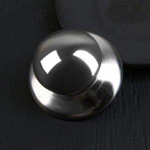 Ручка для крышки на посуду «Металлик», d=5,5 см