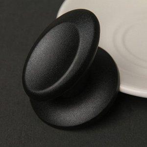 Ручка для крышки на посуду «Металлик», d=6 см
