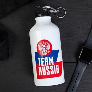 Бутылка с держателем «Team Russia», 500 мл