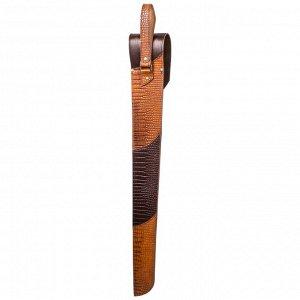 Шампуры 6 шт. в колчане из натуральной кожи «Охота»