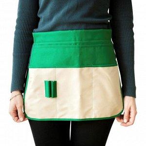 Поясная сумка для работы в саду, 4 кармана